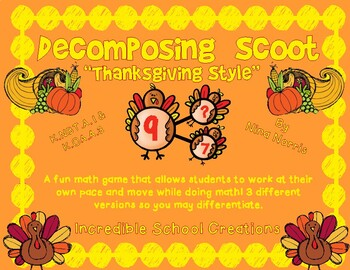 Decomposing Thanksgiving Style - Differentiated