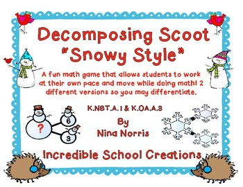 Decomposing Snowy Style Scoot - 2 versions