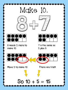 Decomposing and Composing Numbers 1.OA.6