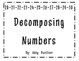 Decomposing numbers 20-30