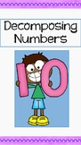 Decomposing the number 10