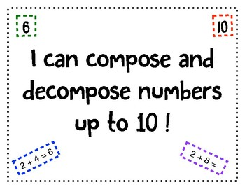 Decomposing up to 10