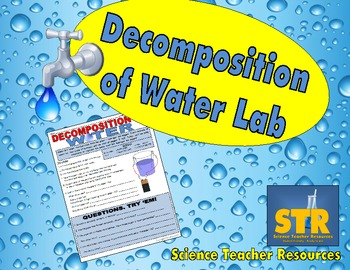 Decomposition (Hydrolysis) of Water Lab