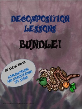 Distance Learning|Home Learning| Decomposition Lesson Plans Bundle