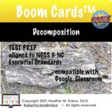 Decomposition Test Prep Boom Cards™