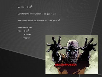 Decomposition of Functions (The Zombie Method)