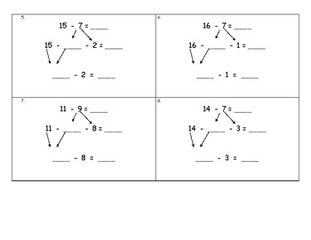 Decomposition of numbers leading to Ten