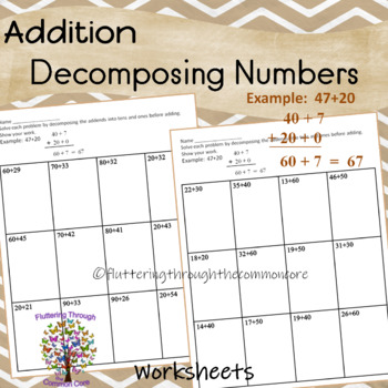 Addition Decompsing Numbers