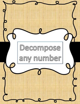 Deconstruct a number