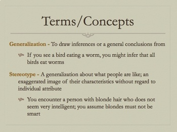 Deconstructing Ethnicity: Analyzing Generalizations & Sterotypes