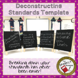 Deconstructing Standards Template - Editable Google File
