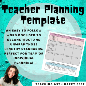 Deconstructing and Planning Template