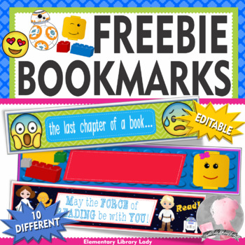 Decor Bookmarks FREE FREEBIE!