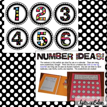 Decor Letters, Numbers, Words, and Punctuation!