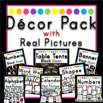 Decor Pack Bundle {Black Neon}
