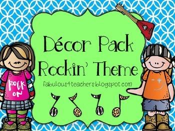 Decor Pack Rockin' Kids Pack