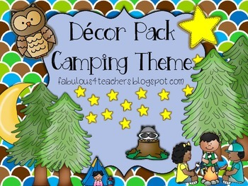 Decor Pack...Camping Theme