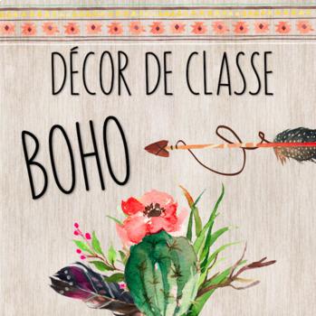 Décor de classe BOHO // Ensemble grandissant