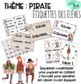 Thème pirate : Ensemble complet