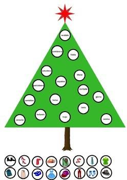 Decora el árbol de Navidad con la ropa