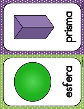 Decoración del aula: figuras polka dots