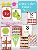 Decoración Para El Salón Manzanas - Spanish Apple Theme Classroom Decor