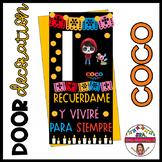 Decoración de Puerta: Coco en español SPANISH