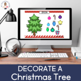 Decorate A Christmas Tree: Articulation (Boom Card) (No Print)