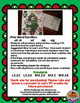 Decorate A Word Family Christmas Tree-CVC Word and Picture Matching Activity