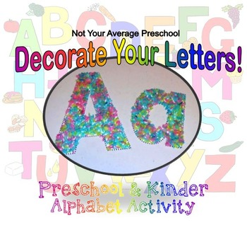Printable Alphabet Letter Wall Letter of the Week Great fo
