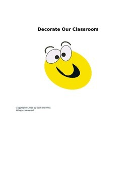 Decorate Our Classroom