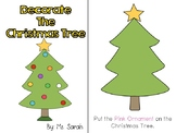 Decorate The Christmas Tree Adapted Book