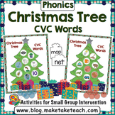 CVC Words - Decorate the Christmas Tree