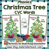 CVC Words - Decorate the Christmas Tree