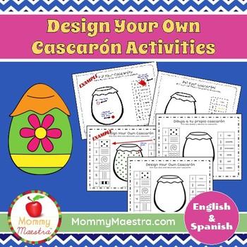 Decorate Your Own Cascarón Bilingual Activity