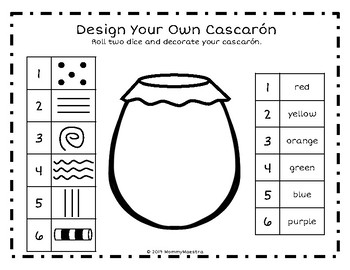 Decorate Your Own Cascarón Bilingual Activities
