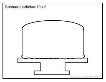 Decorate a Cake 8.5x11
