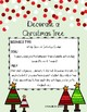 Decorate a Christmas Tree Behavior Management Resource