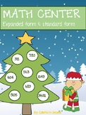 Decorate a Christmas Tree with Expanded and Standard Form Math Center
