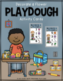 Decorate a Flower Playdough Activity Cards