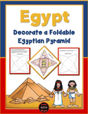 Decorate a Foldable Egyptian Pyramid