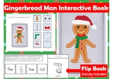 Decorate a Gingerbread Man Interactive & Adapted Book