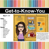 Decorate a Locker | Back to School | Get-to-Know-You | Dis