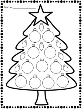 Decorate a Tree: Following Directions