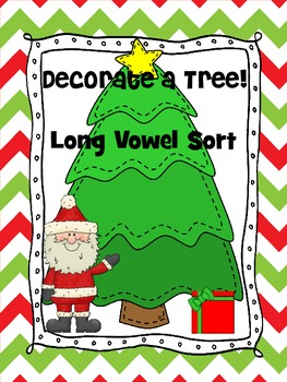 LONG VOWEL SORT CHRISTMAS Decorate A Tree
