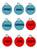 CHRISTMAS Decorate a Tree!  LONG VOWEL SORT