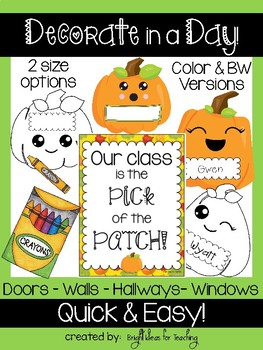 Decorate in Day: Fall Pumpkins