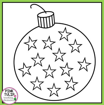 Decorate the Christmas Bauble - Christmas Clip Art
