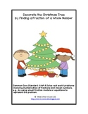 Decorate the Christmas Tree: Finding a Fraction of a Whole Number