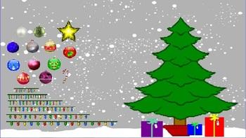 Decorate the Christmas Tree Flipchart